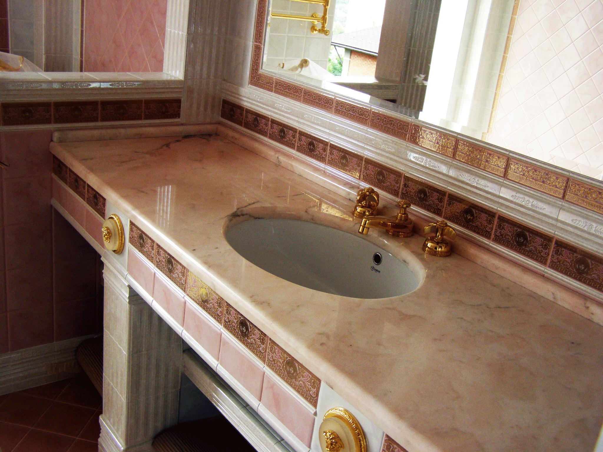 Ванная в доме на б. Дружбы Народов