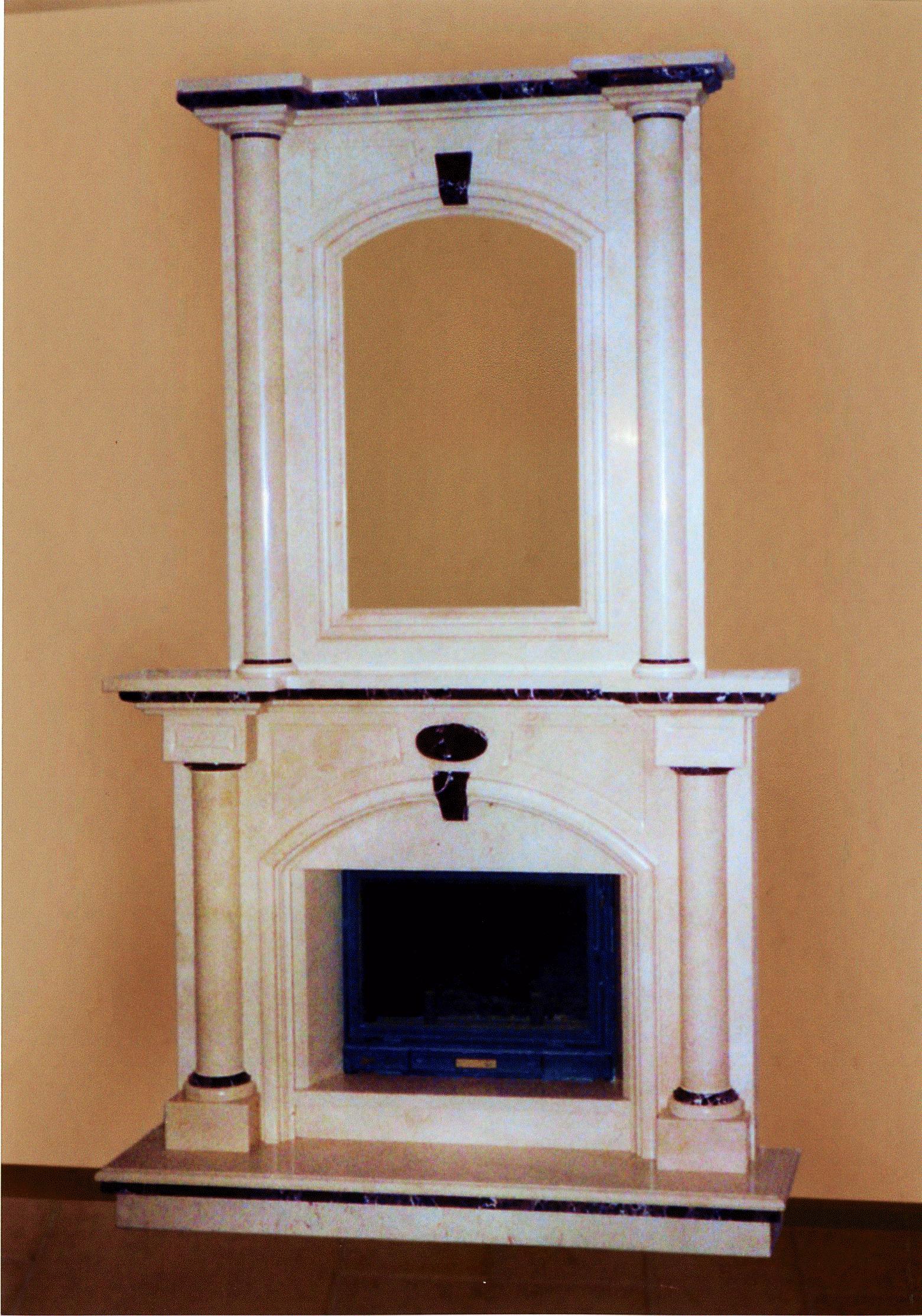 Камин в доме на ул. Н-Слободская