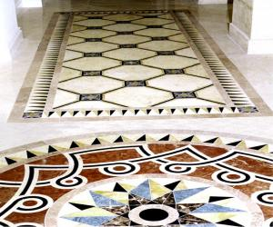 Мозаика в доме на ул. В.Гетьмана